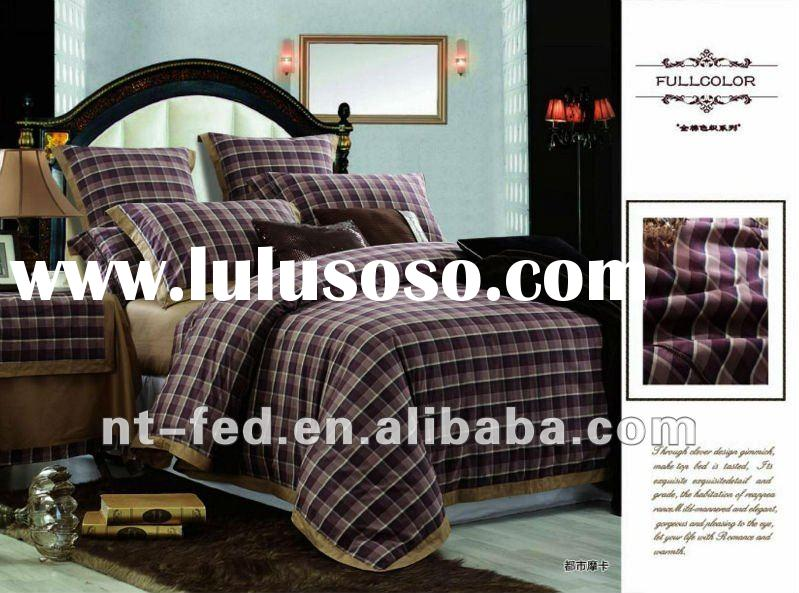 Professional Manufacturer Supplying Bedding set/comforter set with new designs and competetive price