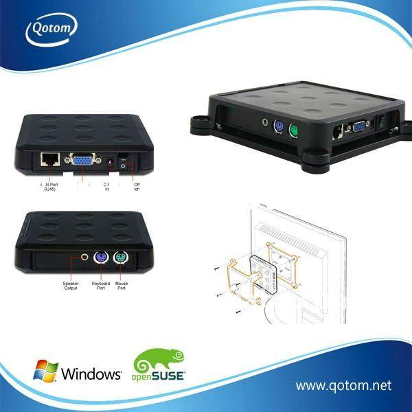 QOTOM-N13 Wholesae Basic pc station device, Thin Clients ,Network Computing, Ncomputing .Zero Client