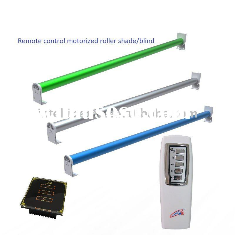 Motorized curtain electric curtain remote control for Remote control blind motor