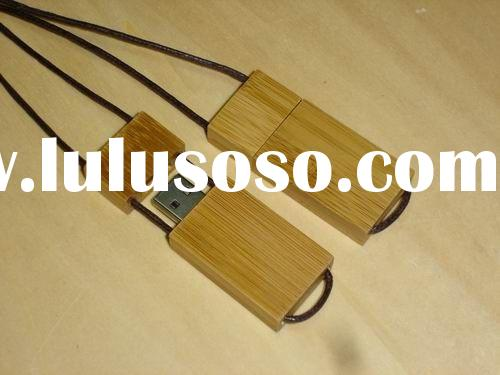 RoHS natural wooden usb flash disk for promotion