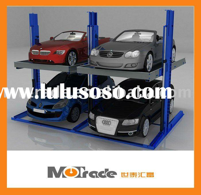 Sharing post mechanical hydraulic vehicle parking lift CE approved Parking garage equipment
