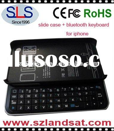 Slide bluetooth keyboard, slide out keyboard cases for the iPhone, SLS-BK06