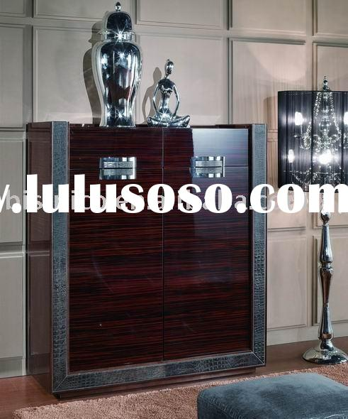 Solid wood modern shoe cabinet,shoe shelf,living room furniture,modern furniture