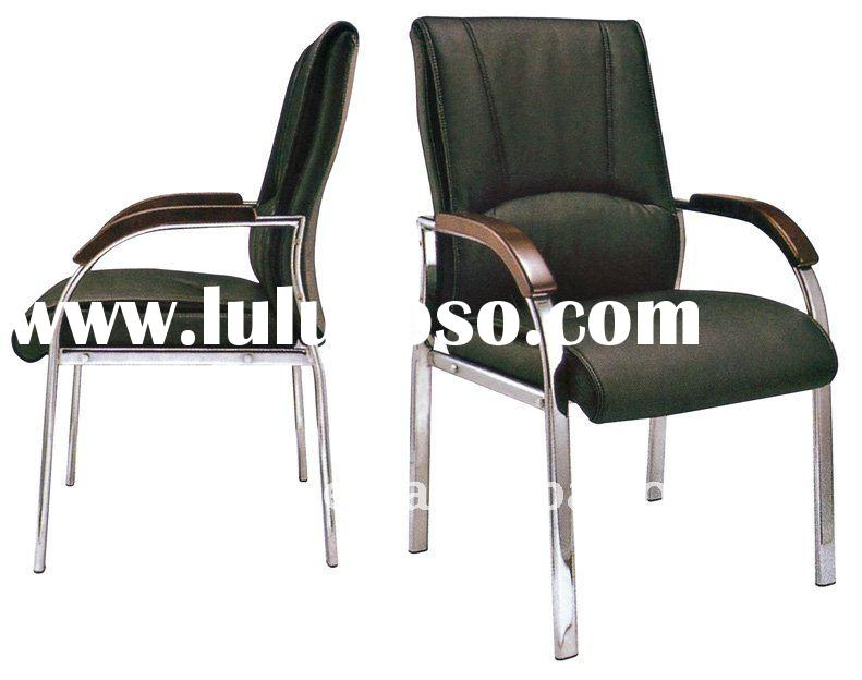 Stackable Office training chair/Office conference chair/High quality leather office school chair