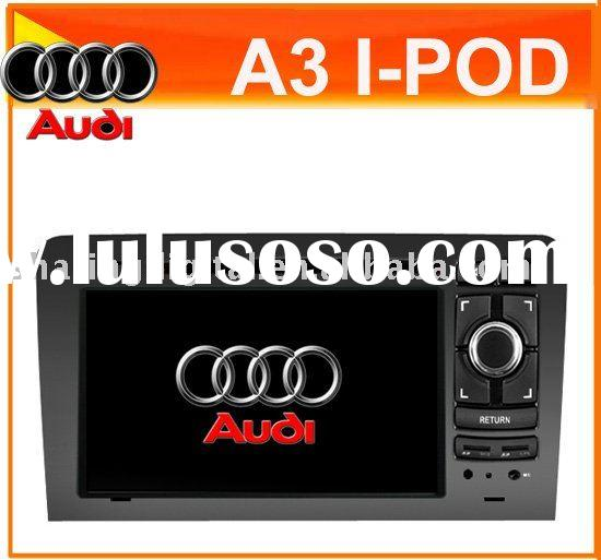 Steering wheel control car DVD Player with GPS for Audi A3 2003-2010