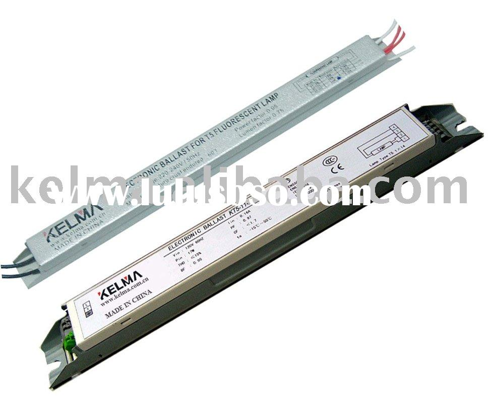 T5 fluorescent lamp electronic ballast