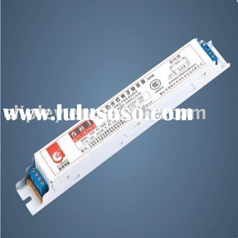 T5 straight tubular fluorescent lamp electronic ballast