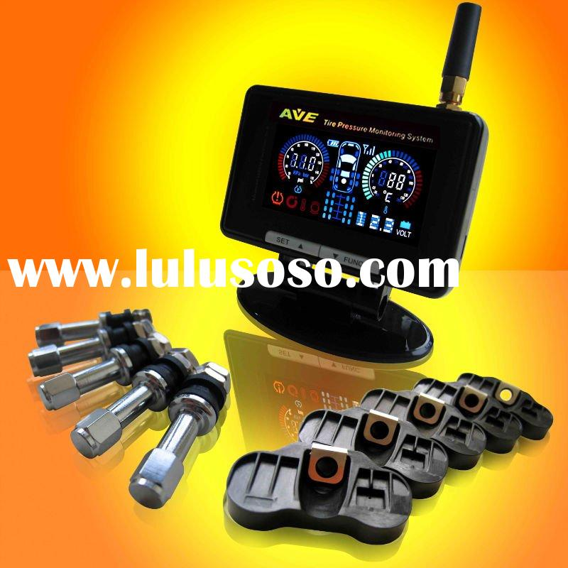 TPMS Total Solution:AVE cool Color LCD TRUCK/BUS/CVs/Car TPMS Pressure gauge Tyre Pressure monitorin
