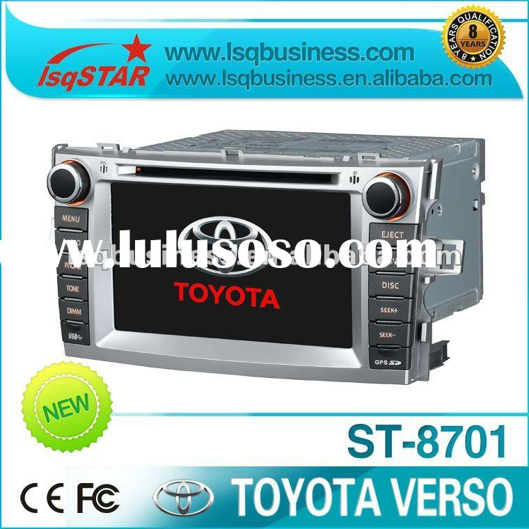 Toyota Verso 2012 car multimedia with GPS, steer wheelo contro, bluetooth, TV, FM, SD, USB..function