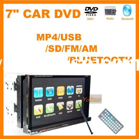 """Wholesale---7"""" 2 din car DVD player+fast delivery"""