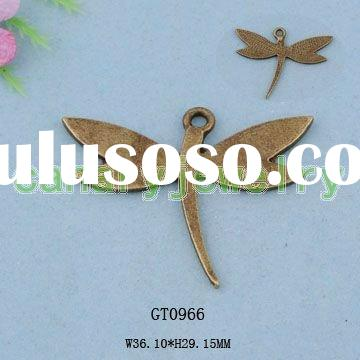Wholesale Fashion Dragonfly Charms Jewelry Charms