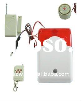 Wired Wireless Zone Compatible Strobe Home Alarm System
