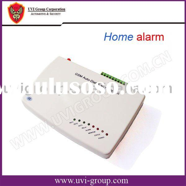 Wireless Home alarm with PIR, Panic button, Door contact(GSM-M3A)