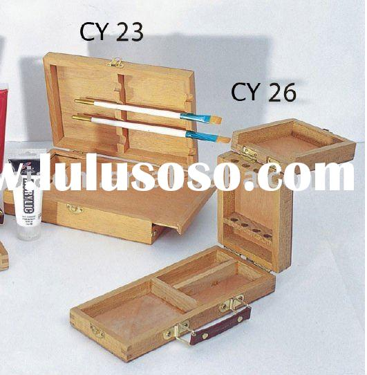 Wooden Artist case Painting box Drawing box