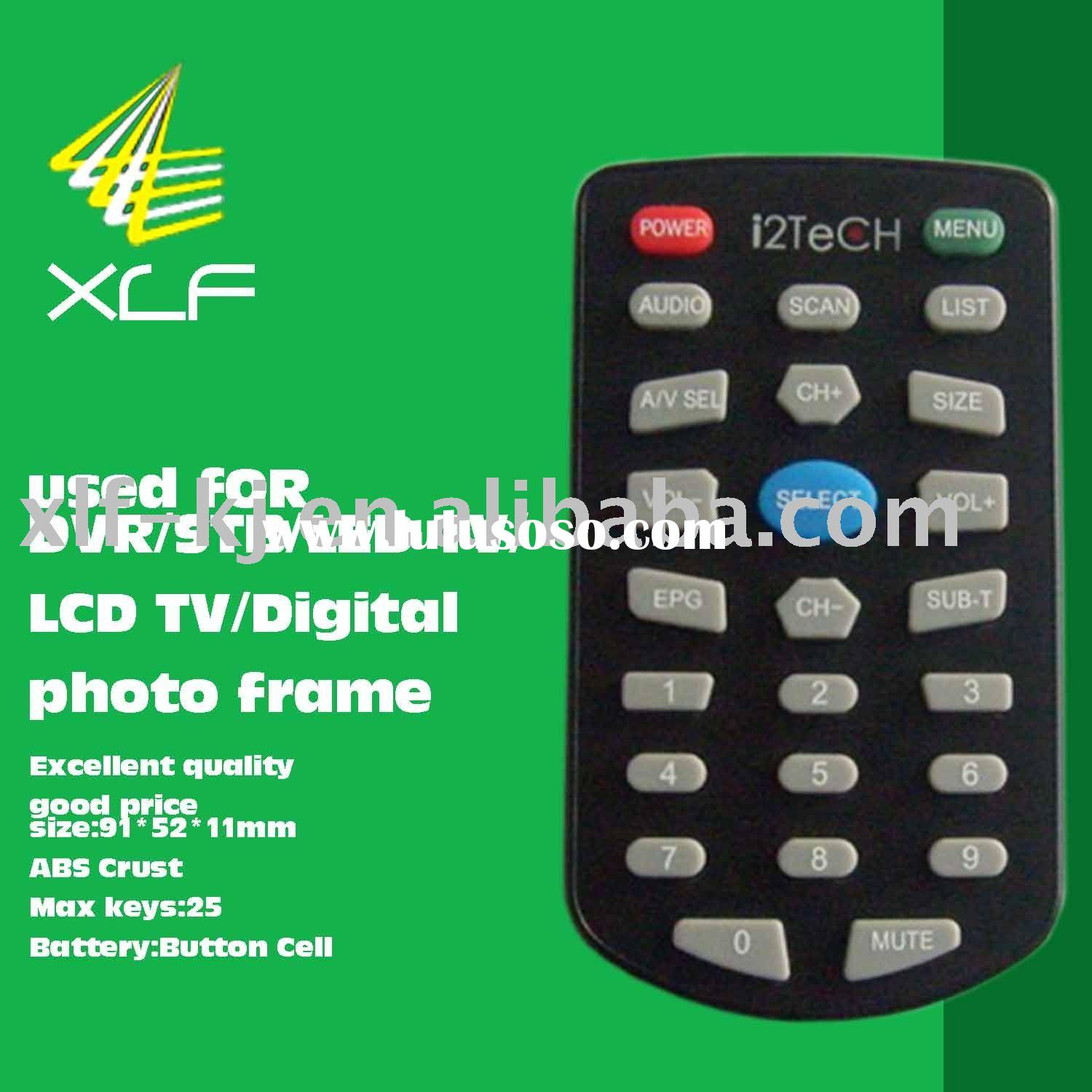 XLF-025A photo frame,DVR,STB,LED/LCD TV Digital Video Recorder Remote Control