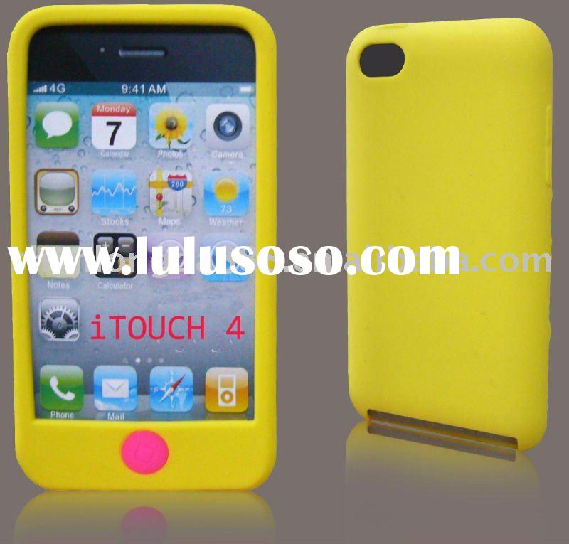 (SLD-I563) for apple ipod touch 4 silicone case