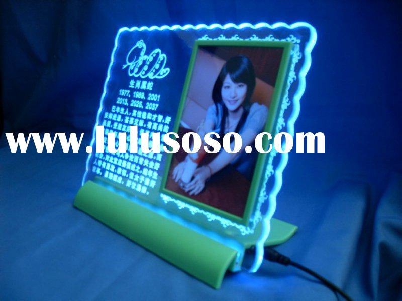 acrylic LED advertising