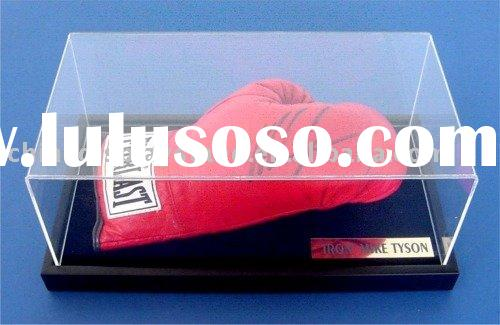 acrylic boxing glove display box,glove display case