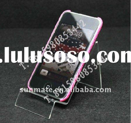 acrylic mobile phone holder/acrylic stand/acrylic counter top display/display/display stand/shelf/