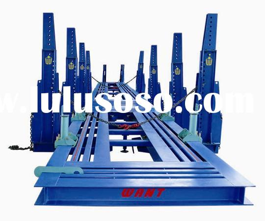 auto straightening bench, auto frame machine, auto body alignment bench, car bench, W-6000a,CE appro
