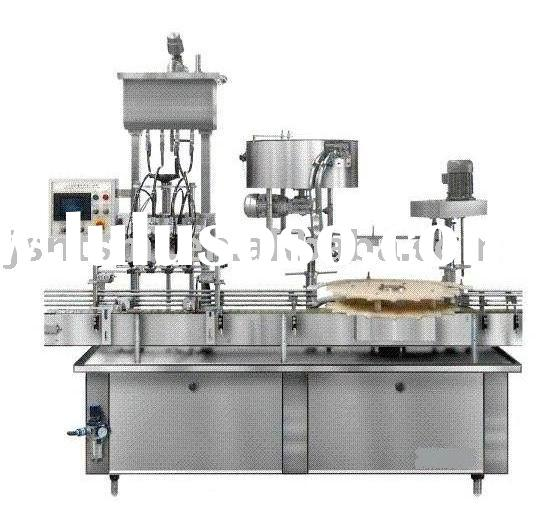 automatic oil filling & sealing machine