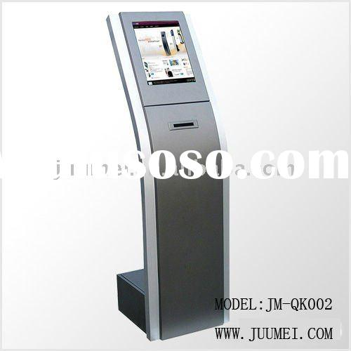 bank wireless queue management system and queuing kiosk terminal