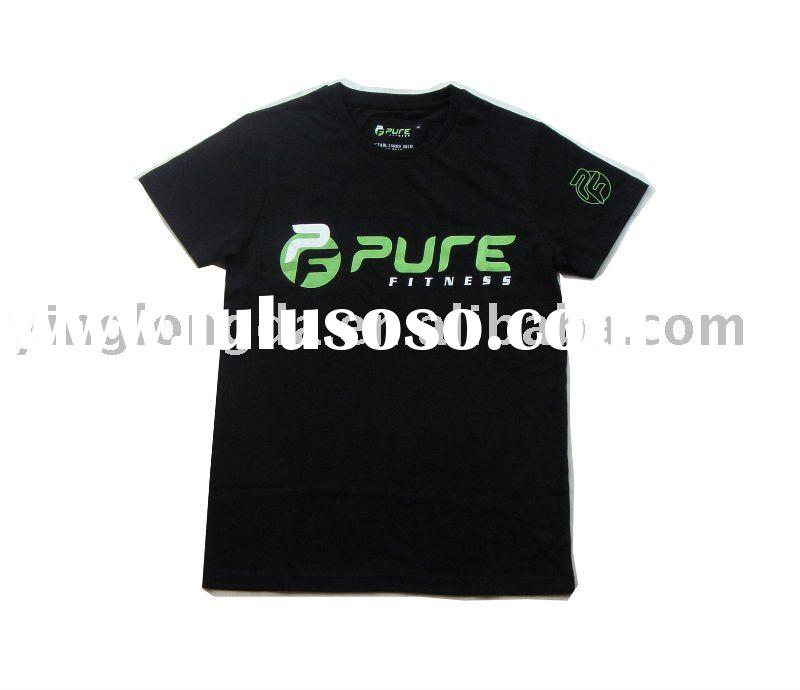 black silk screen print tshirt,Customized Artworks are Welcome