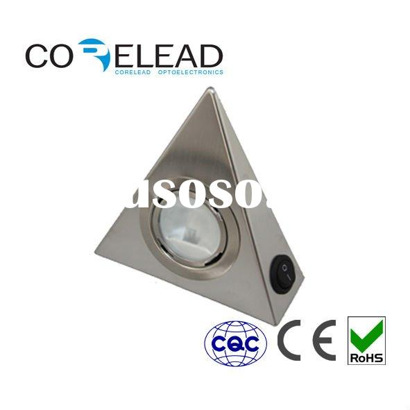 cheap new modern stainless steel g4 led under cabinet down light for furniture kitchen DC12V ce best