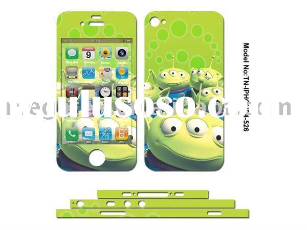 color decal skin sticker for iphone4 4g