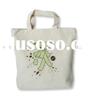 cotton canvas shopping bag