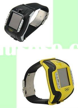 f3 1.Designed as classic famous Mobile phone,high clear camera 2.GSM mobile phone watch with bluetoo