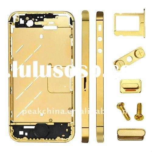 for iPhone 4S replacement (Metal Mid Plate Buttons + SIM Card Tray + Phillips Screw)