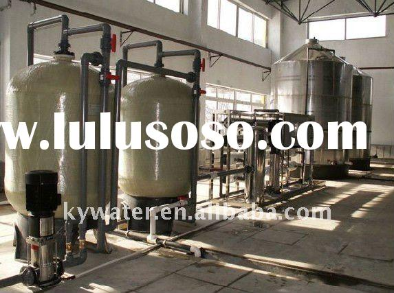 high capacity 20000L/H mobile water treatment plant
