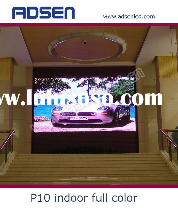 indoor full color LED display p10