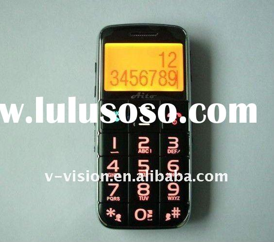 large button mobile phone for senior use