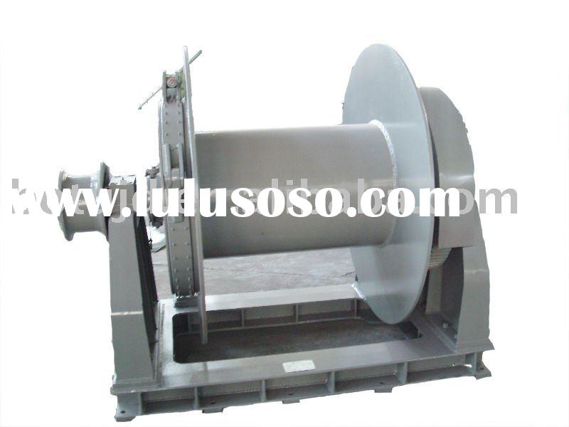 marine hydraulic anchor winch