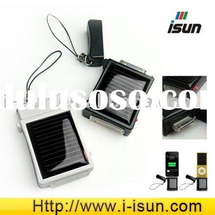 mini potable solar mobile phone battery charger