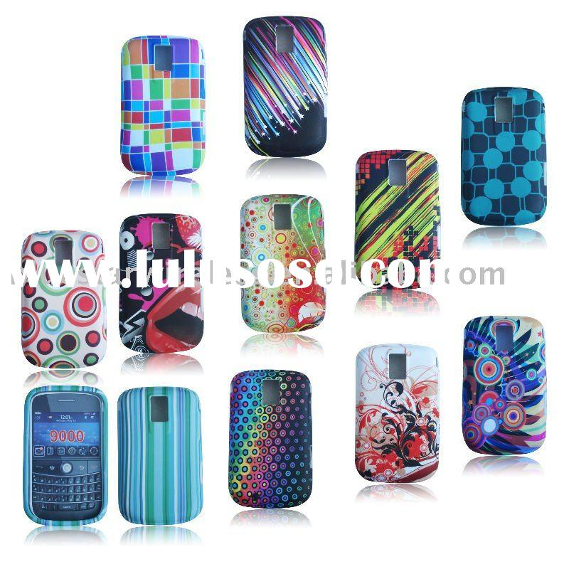mobile phone TPU case with different print designs cover for Blackberry bold 9000