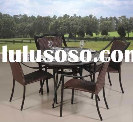 modern garden sets aluminum frame outdoor rattan furniture