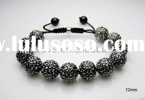 most popular shamballa bracelet with disco ball