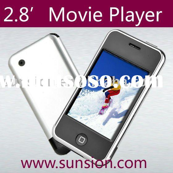mp4 player touch screen, 8GB mp4 player with touch screen, movie player