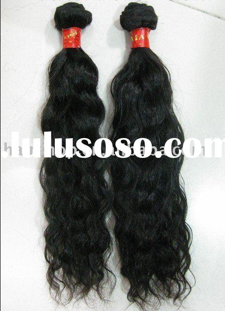 natural wave brazilian hair weave,human hair weft