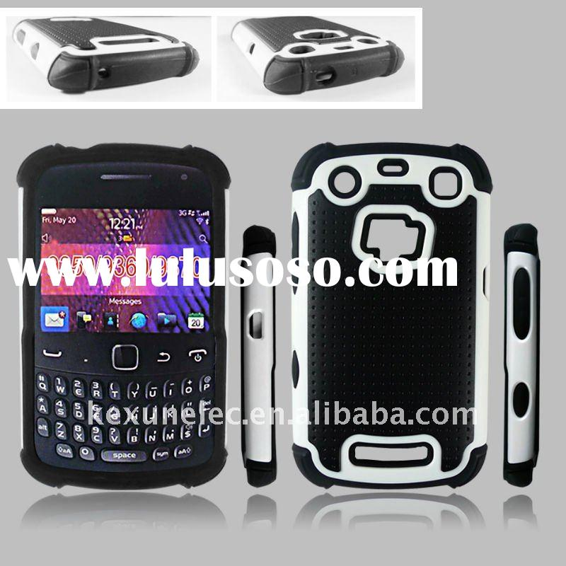 new defender mobilephone case ,combo/silicone case for Blackberry 9350,made by tpu,plastic,silicone