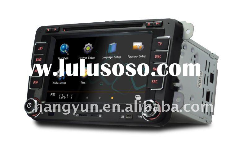 new hot car video for vw/skoda/golf/jetta with gps/ipod/bluetooth/bidirectional can bus