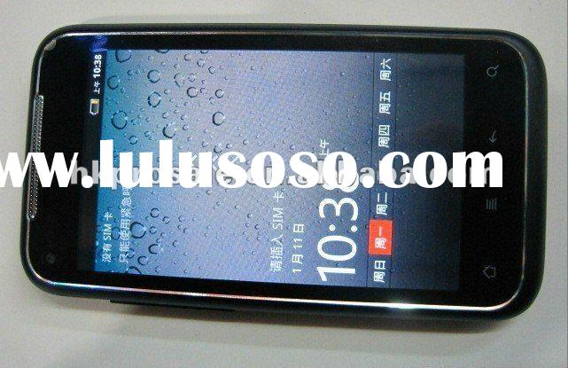 newest smart phone S710 3G WCDMA MTK6573 650MHZ dual sim card cell phone android 2.3