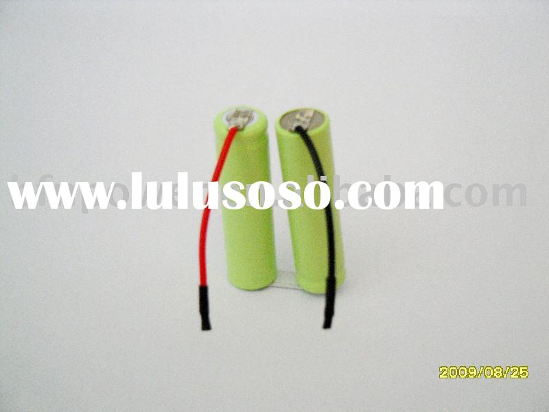 nimh battery pack: AAA rechargeable 650mAh 2.4V
