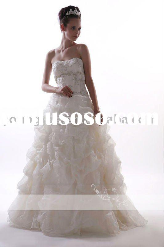 off-shoulder Mermaid Latest wedding gown and bridal dress