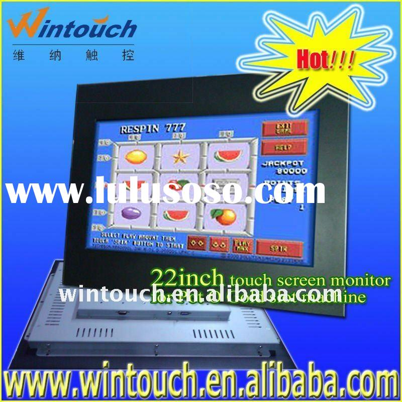 open frame with VGA with touch screen/open frame monitor