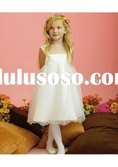 organza ball gown elegant flower girl dress