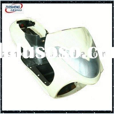 plastic injection auto mould/plastic motor bicycle cover mould